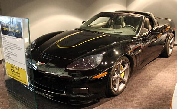 [VIDEO] Corvette Museum to Raffle 2011 SEMA Jake Edition Corvette on Friday