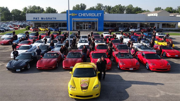 [PIC] Throwback Thursday: Cedar Rapids Corvette Club in 2013