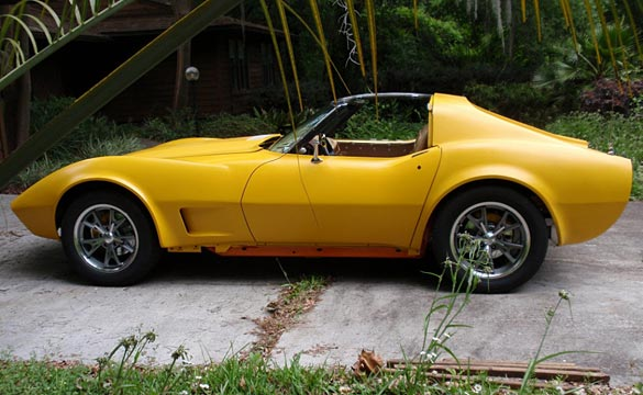 [UPDATE] The Electric C3 Corvette Hits the Road