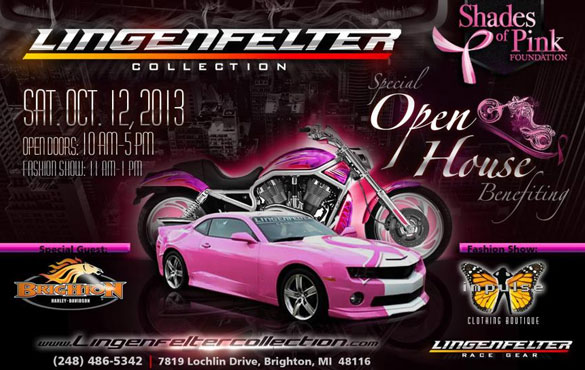The Lingenfelter Collection Fall Open House is Saturday, October 12th