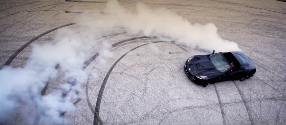 [VIDEO] Teaser from Vossen Shows Corvette Stingray Burnouts in Slo-Mo HD Glory