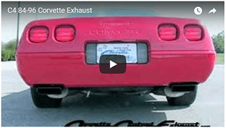 exhaust gallery corvette central