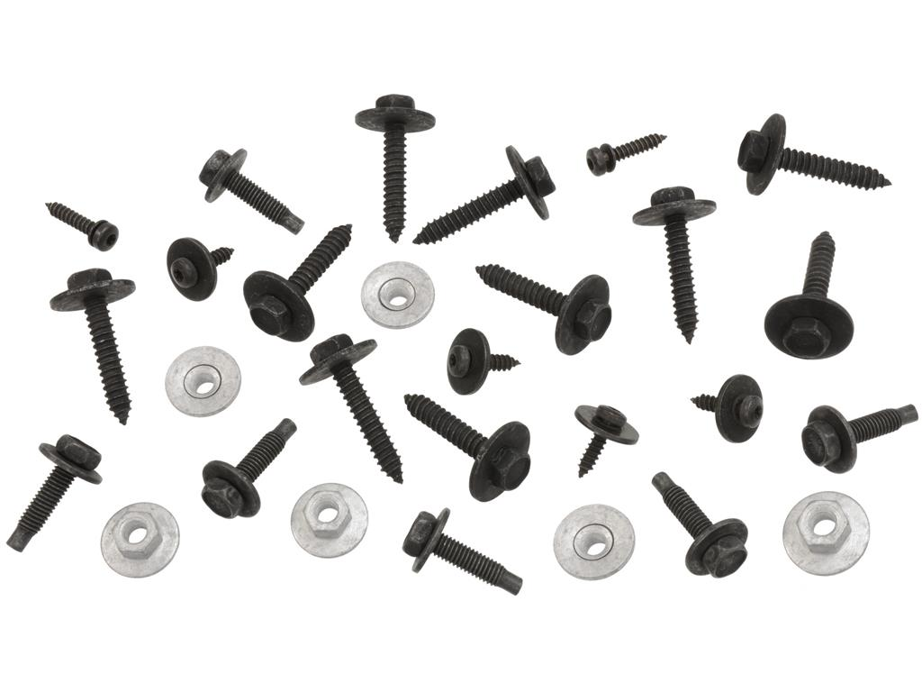 91 96 Front Spoiler Air Deflector Mount Bolt Kit And Nut