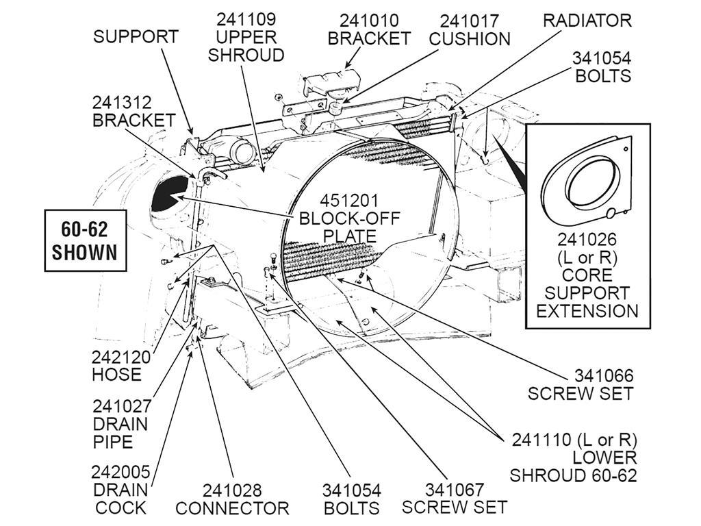 56 74 Expansion Tank Radiator Overflow Hose