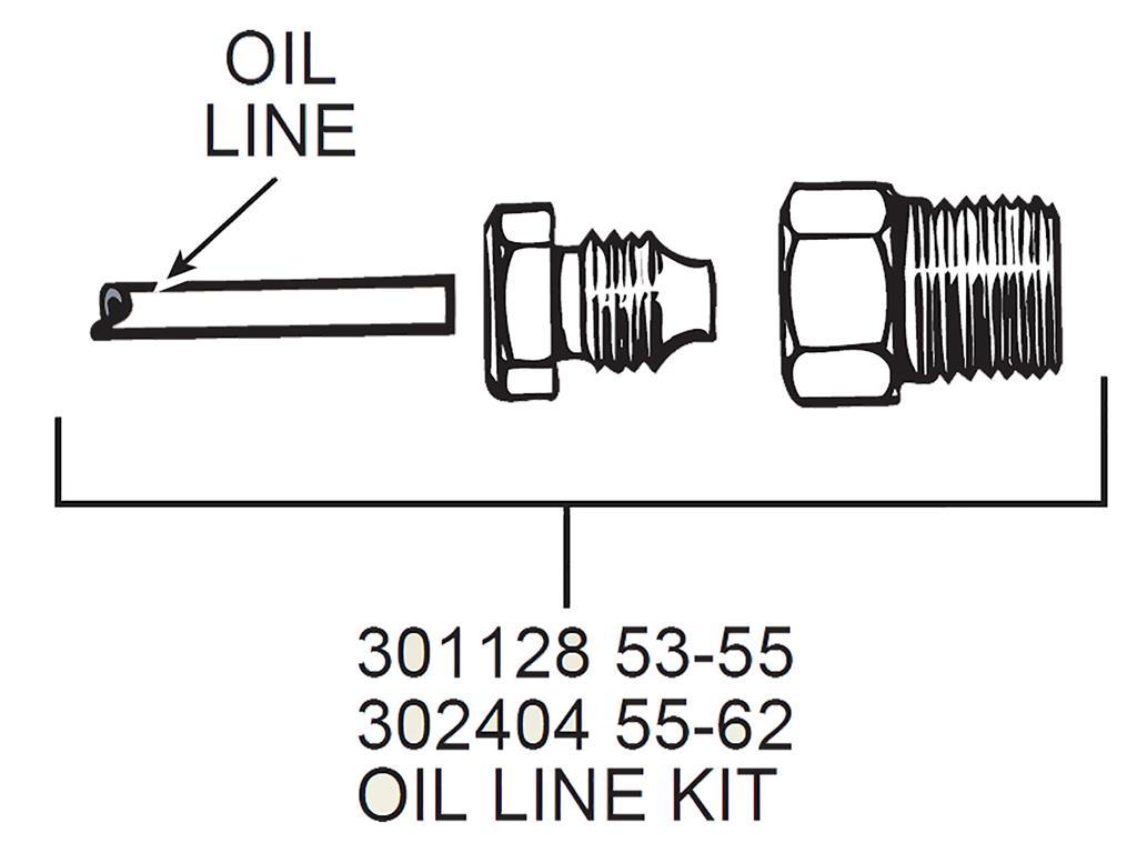 56 67 Oil Line Kit