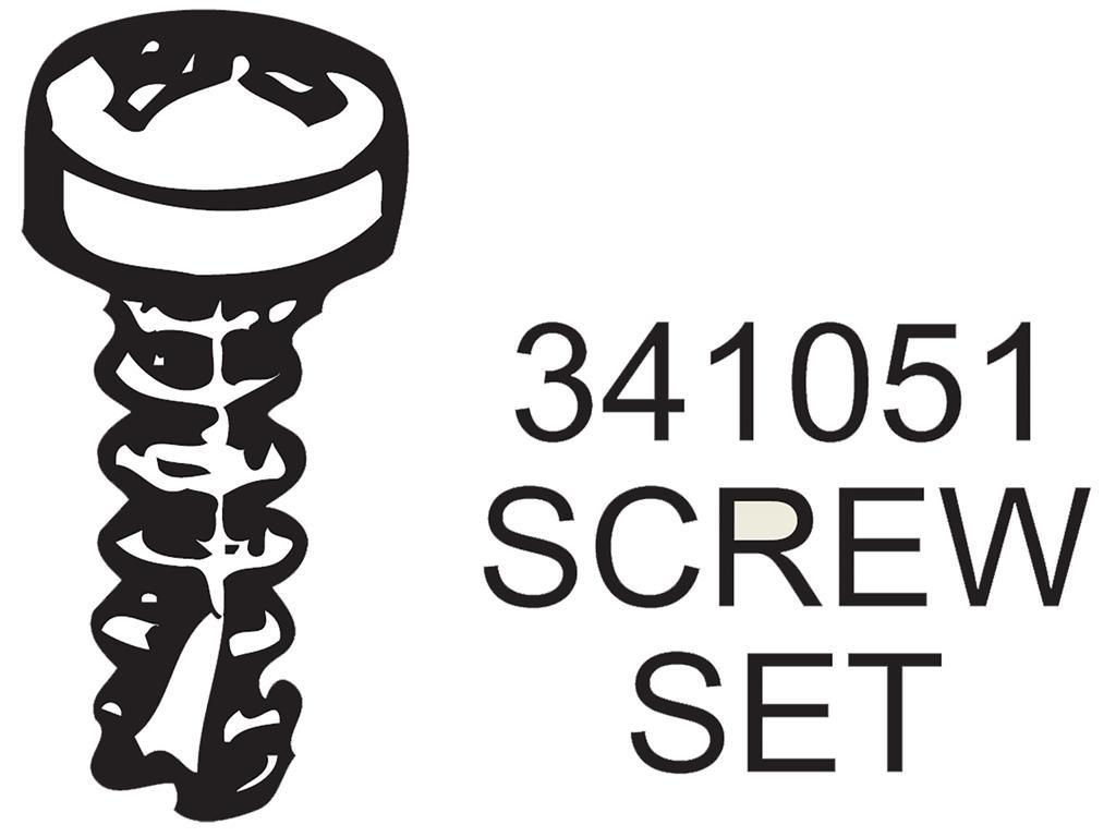 53 62 Body Engine Compartment Screw Set