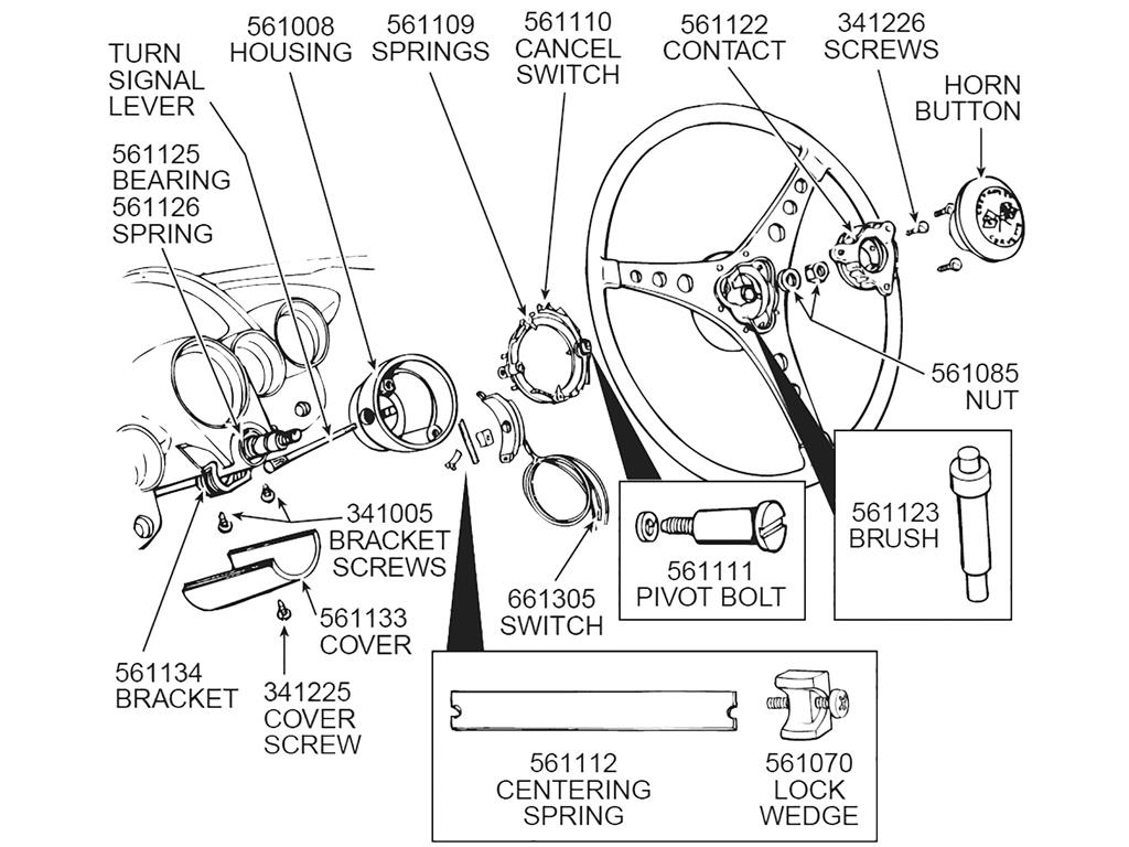 55 62 Turn Signal Switch