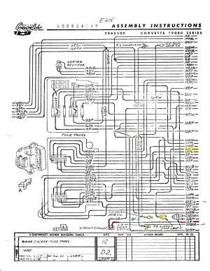 I need a 1965 wiring diagram  CorvetteForum  Chevrolet