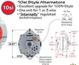 C2 Wiring DiagramInstructions Needed for 65 327Alternator