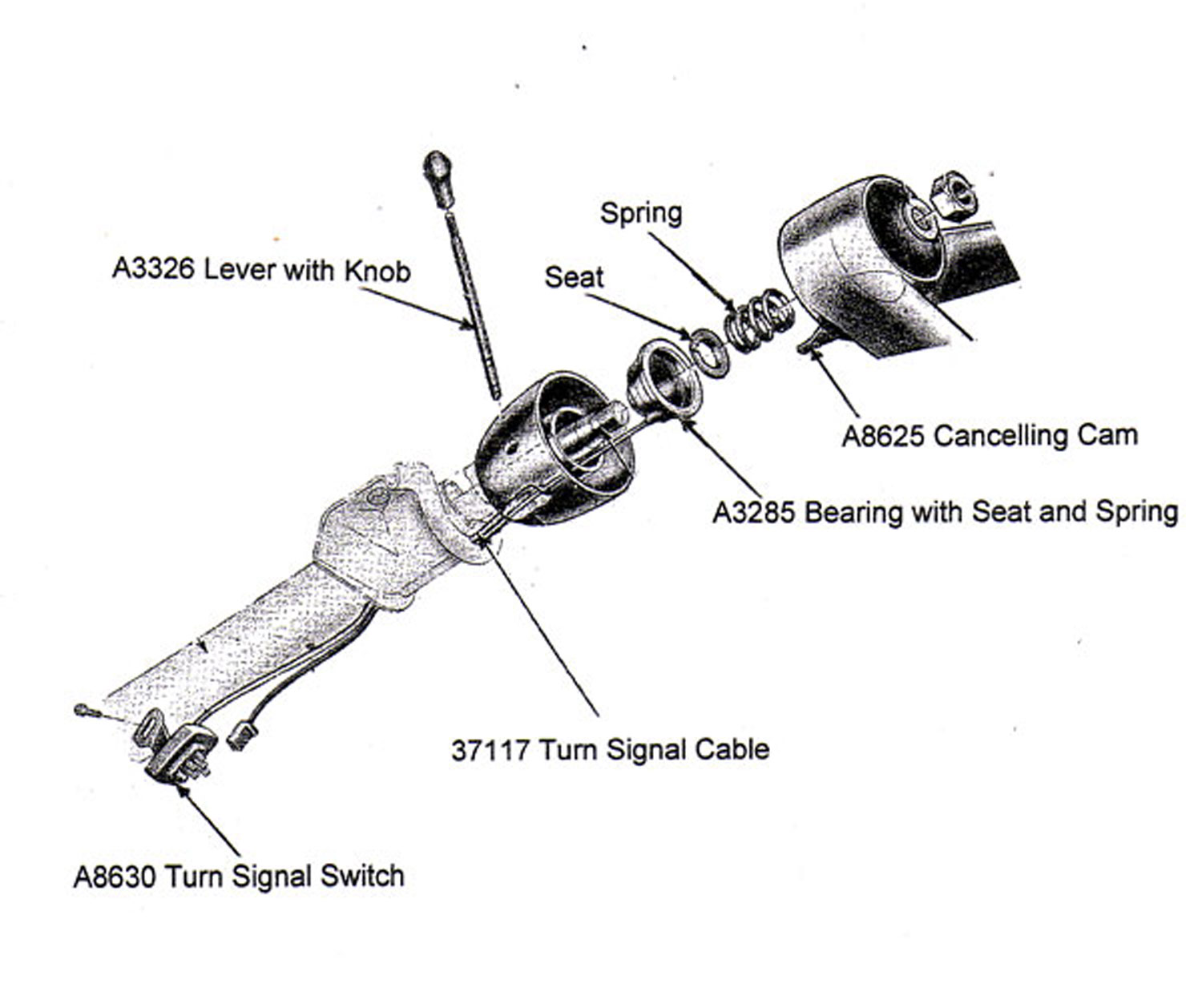 Chevy Pickup Steering Column Wiring Diagram