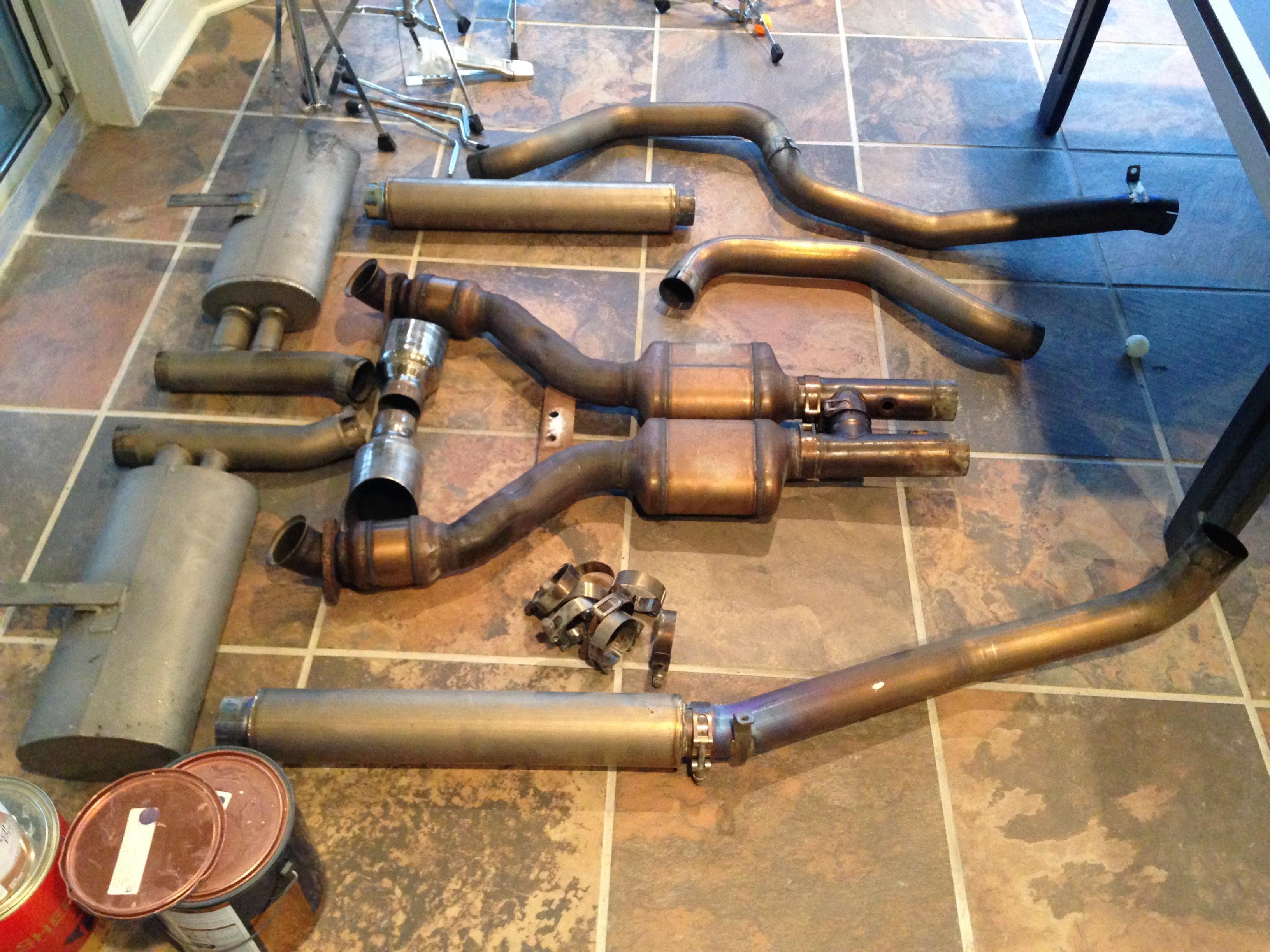 corsa titanium full exhaust