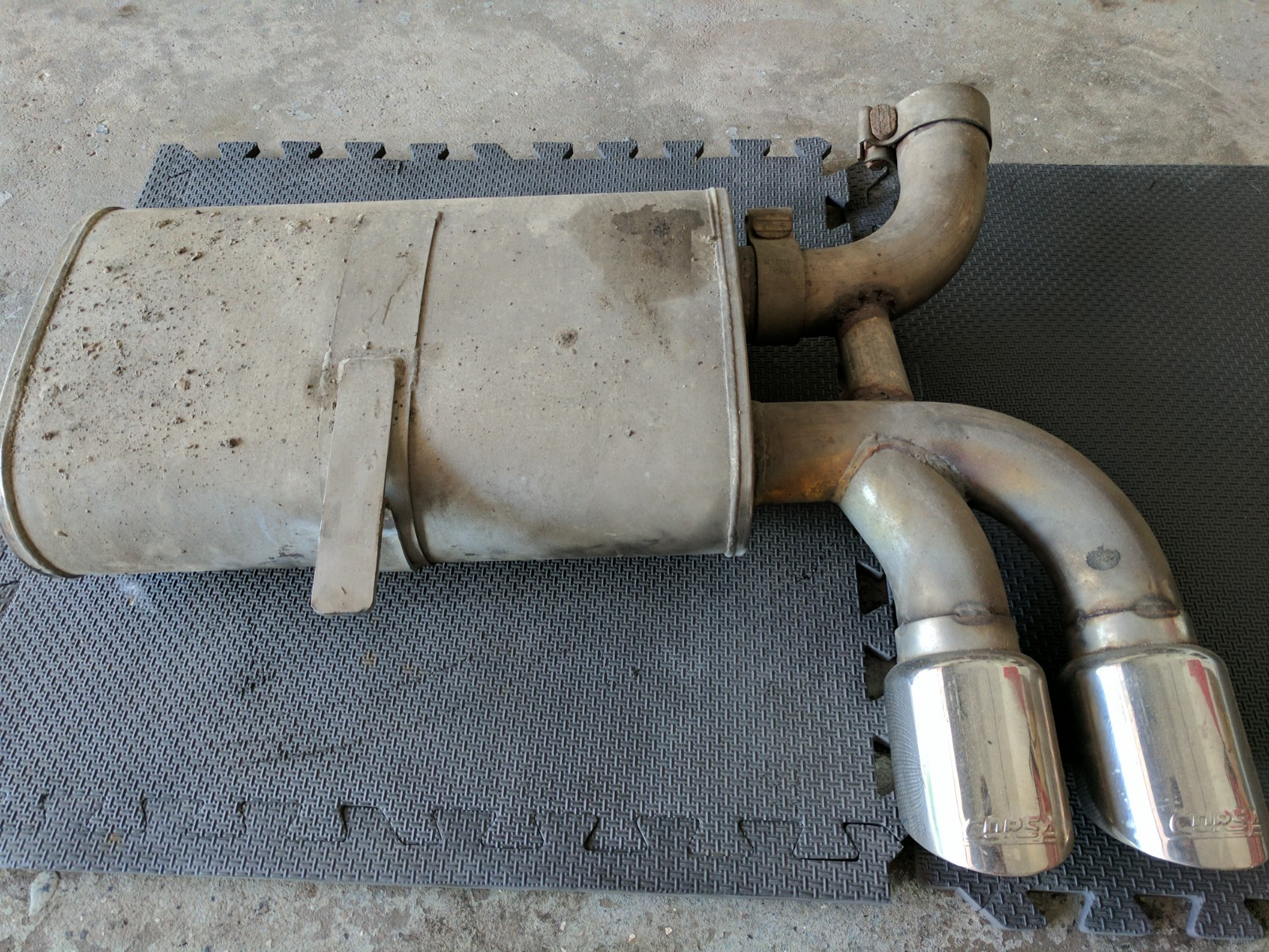 c5 corsa sport exhaust system