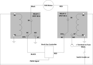 C5 Corvette Electric Fan Relay Wiring Diagram | Wiring Library