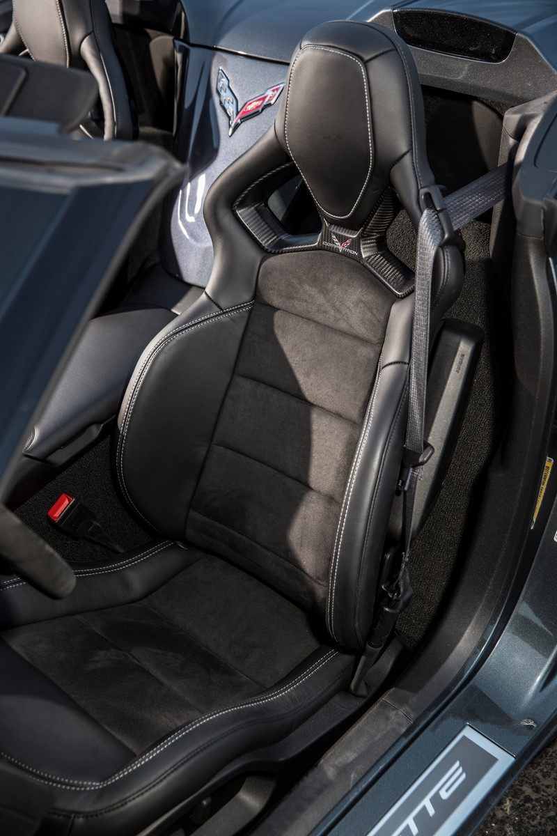 C6 Corvette Interior