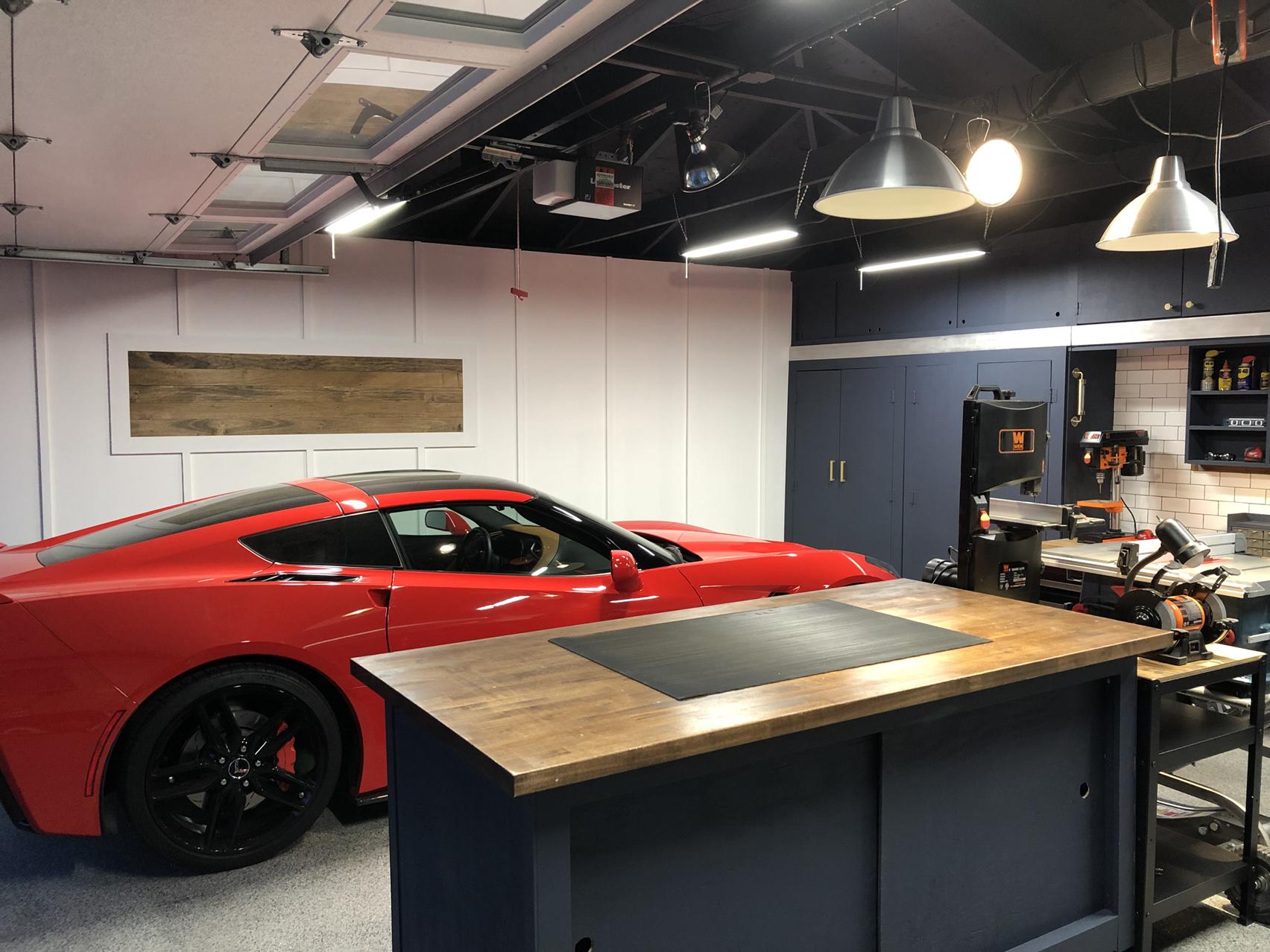 Garage Remodel All Diy Corvetteforum Chevrolet Corvette