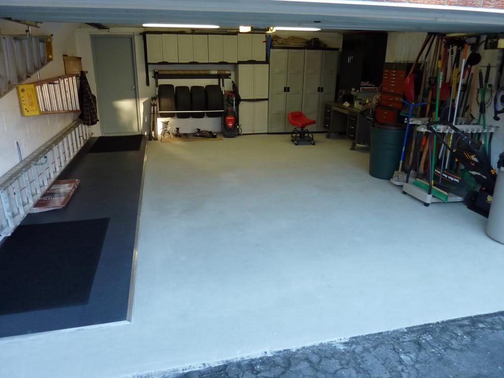 garage floor epoxy or tile