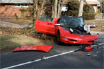 [ACCIDENT] C5 Corvette Destroyed in Nassau County Crash