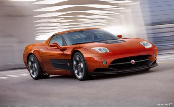 New Renderings of the Corvette-based Endora SC-1