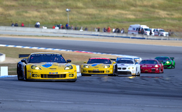 Corvette Racing at Laguna Seca: Riding the Roller Coaster