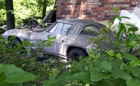 Wasting Away: 1963 Corvette Split Window Coupe