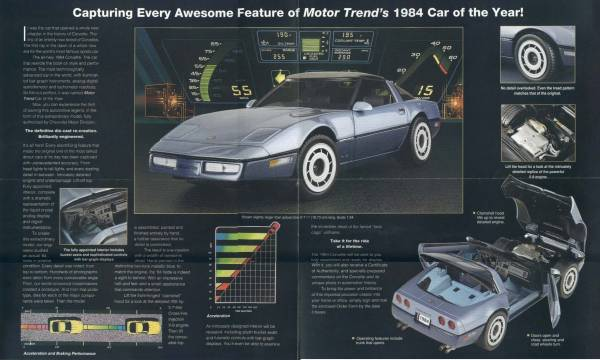 25-84 GM Motor Trend Car of Year Ad