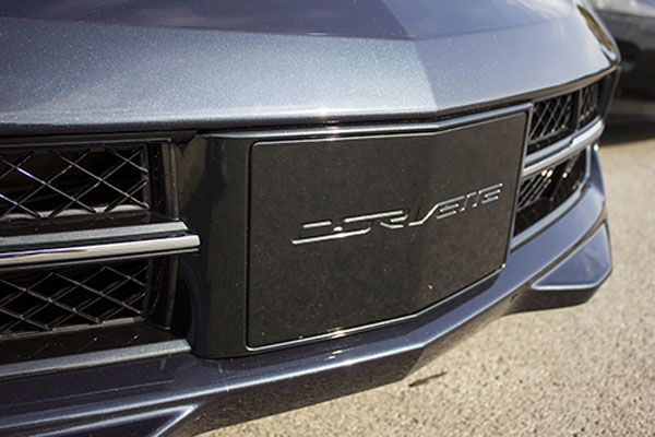 2014 Chevrolet Corvette Stingray with  Aero Cover for License Plate (2)