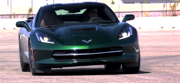 C7 Chevrolet Corvette Stingray Track Test Home
