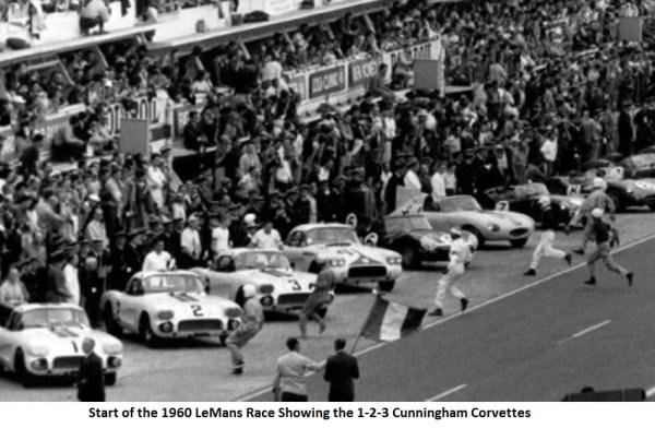 35a-Start 1960 LeMans Cunningham