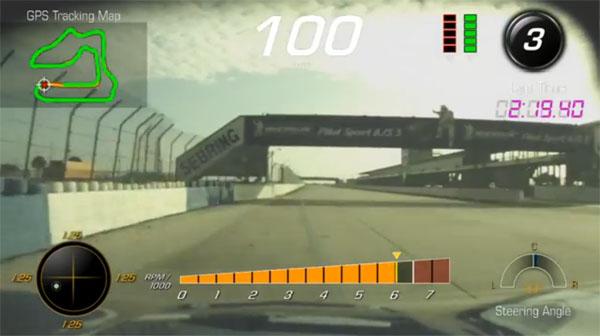 2015 Chevrolet C7 Corvette Performance Data Recorder Screen Shot
