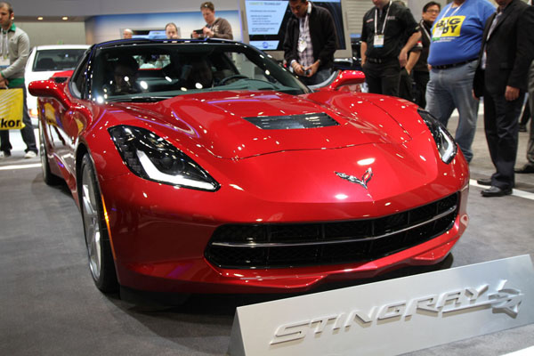 Chevrolet Corvette Stingray at 2014 International CES Home