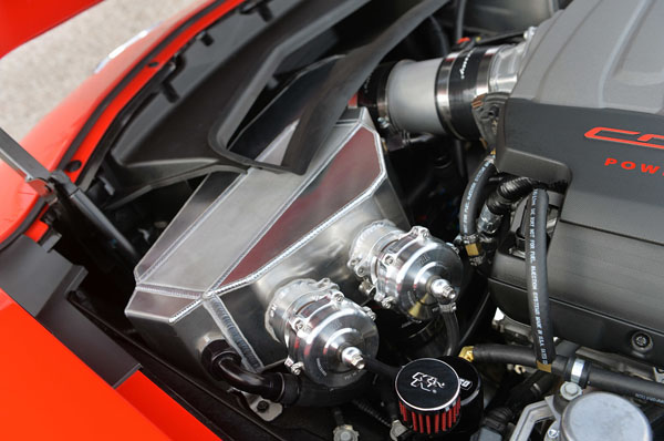 Hennessey HPE700 Twin-Turbo Corvette Home 2