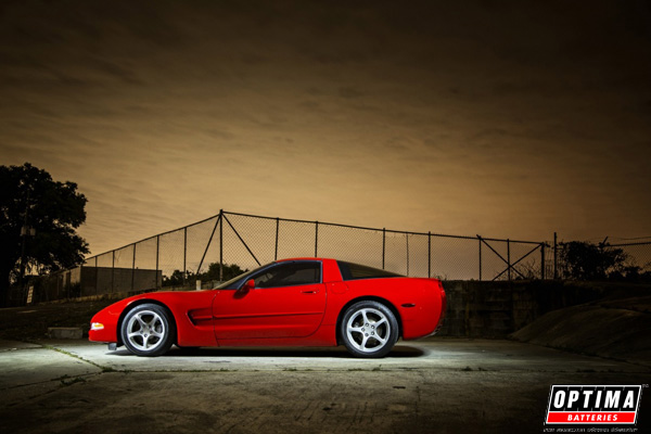 2001 Chevrolet Corvette C5 Red Home