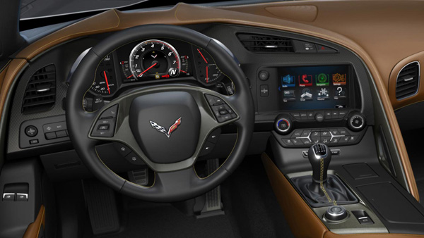 C7 Corvette Stingray Interior Manual