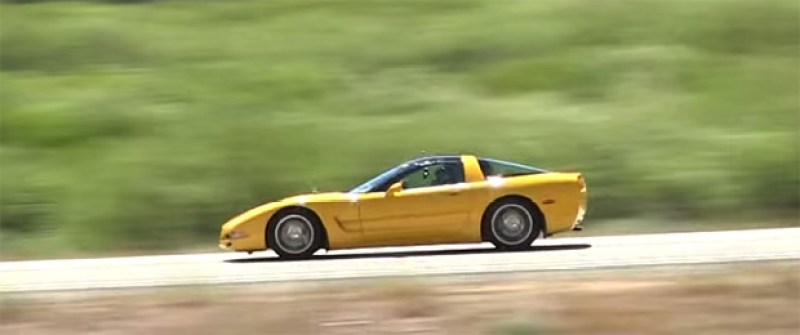 81-Year-Old Grandma Clocked at 166 mph in C5 Corvette Featured