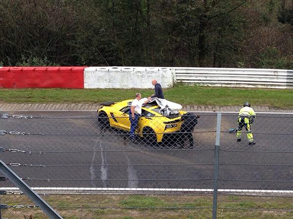 2015 Corvette Z06 Crashed on Nürburgring Home