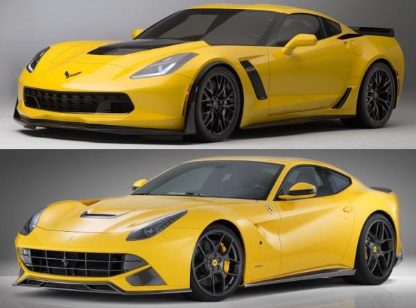 2015 Corvette Z06 and Ferrari F12berlinetta Novitec Home