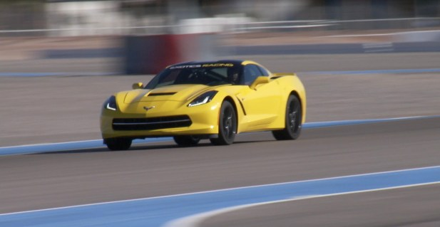 Corvette Stingray at Exotics Racing