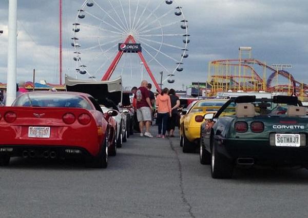 Corvette Weekend text