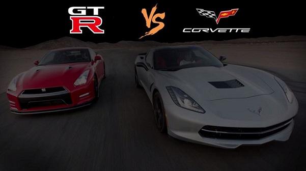 Nissan vs Corvette text