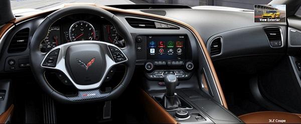 Z06 interior