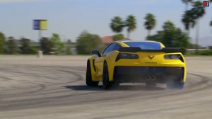 2015 Corvette Z06 Drifting