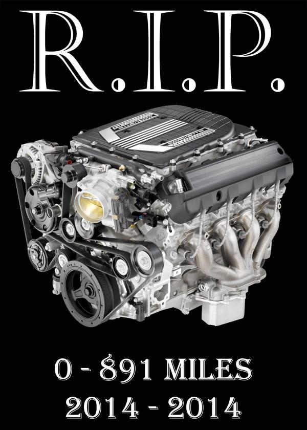2015-Chevrolet-Corvette-Z06-LT4 Engine Blown Death Home