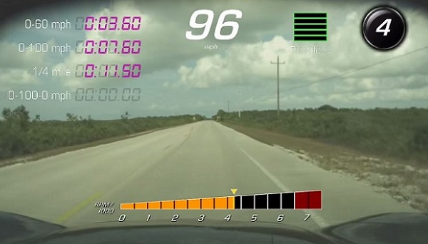 PDR footage text image