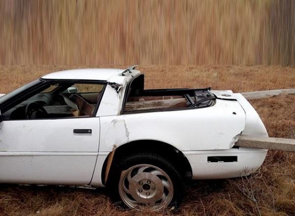 Wrecked Corvette text 3