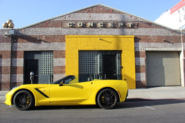 C7 LA photo shoot