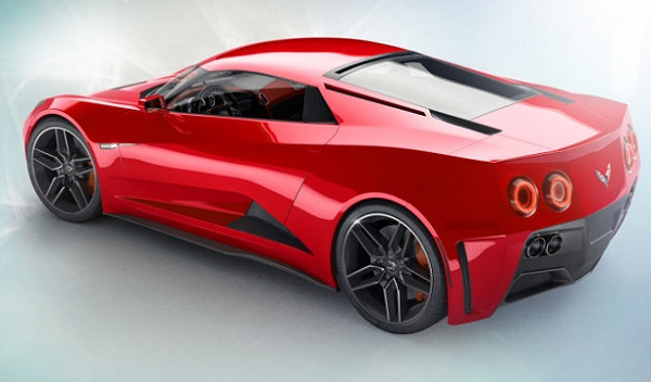 Mid-Engine Chevrolet Corvette C8 Rendering