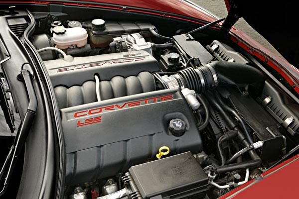 C6 Corvette LS2 Engine