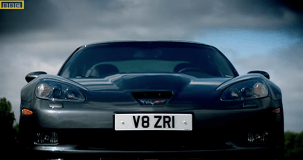 zr1 v8 top gear corvette