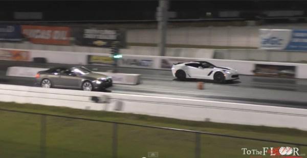 Corvette Z06 vs BMW 6 Series
