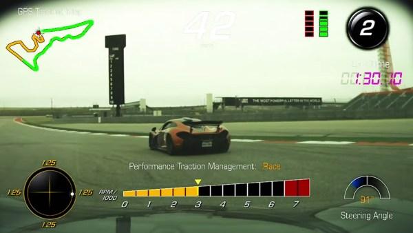 McLaren P1 in C7 Corvette Z06 PDR at COTW